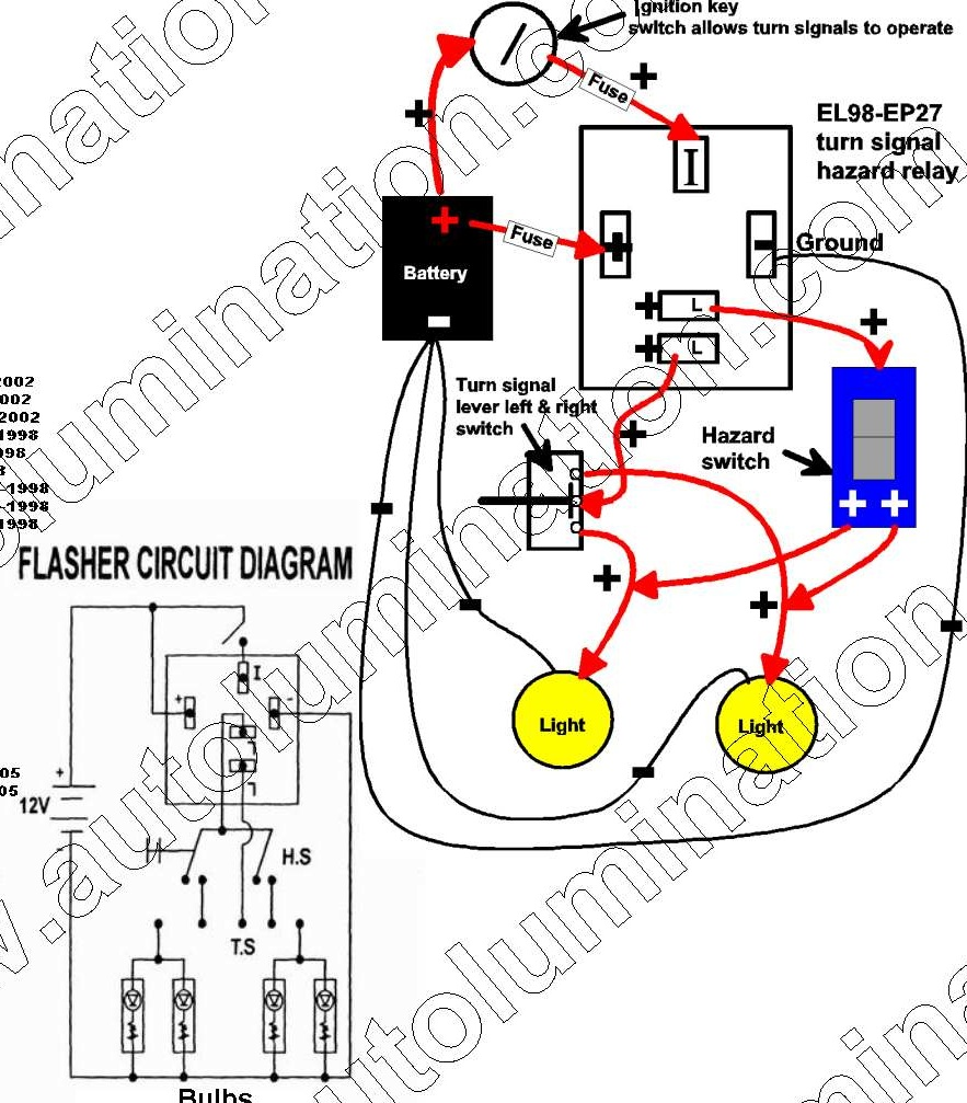 flasher unit wiring 2 way flasher wiring diagrams