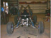 Front view of the chassis