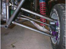 Rear Axle installed