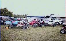 The rest of us in the pits at Crandon